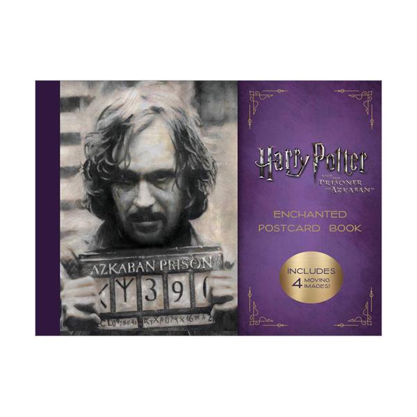 해리포터 #03 : Harry Potter and the Prisoner of Azkaban Enchanted Postcard Book (Cards)