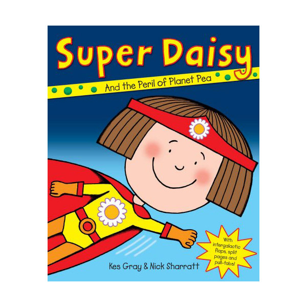 Super Daisy and The Peril of Planet Pea (Paperback, 영국판)