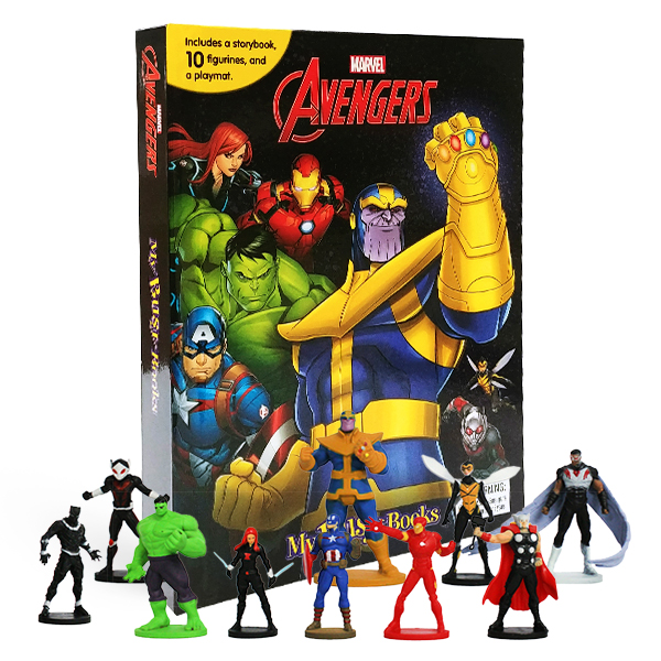 My Busy Books : Marvel Avengers Infinity War (Hardcover)