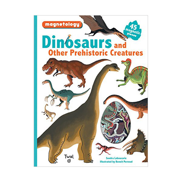 Magnetology : Dinosaurs and Other Prehistoric Creatures (Hardcover)