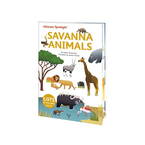 Ultimate Spotlight : Savanna Animals (Hardcover)